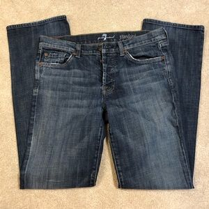 7 For All Mankind Standard Jeans Size 32